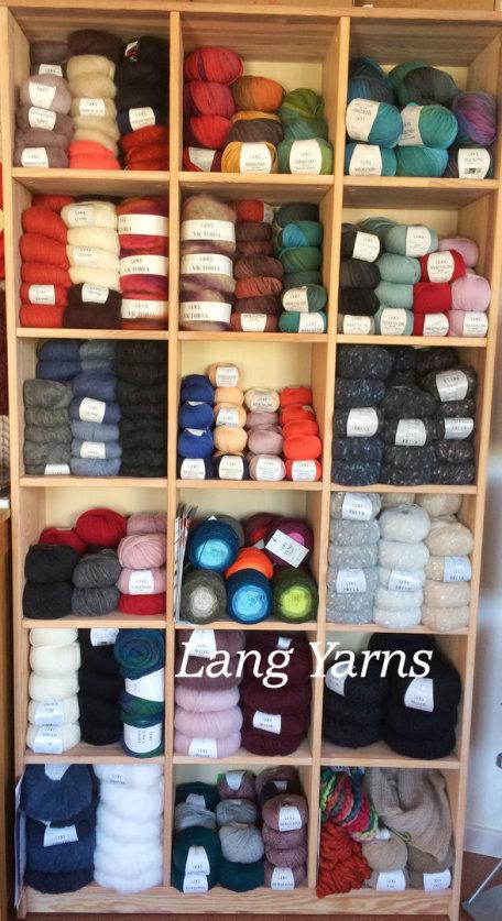 Lang Yarns Wollregal