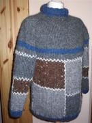 Pullover Herren Islandwolle