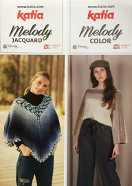 Strickanleitung Katia Poncho Melody - Pullover Color