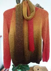 Kinder Pullover mit Schal